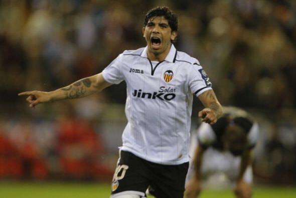 Banega puso la guinda final a la goleada y al triunfo del Valencia.