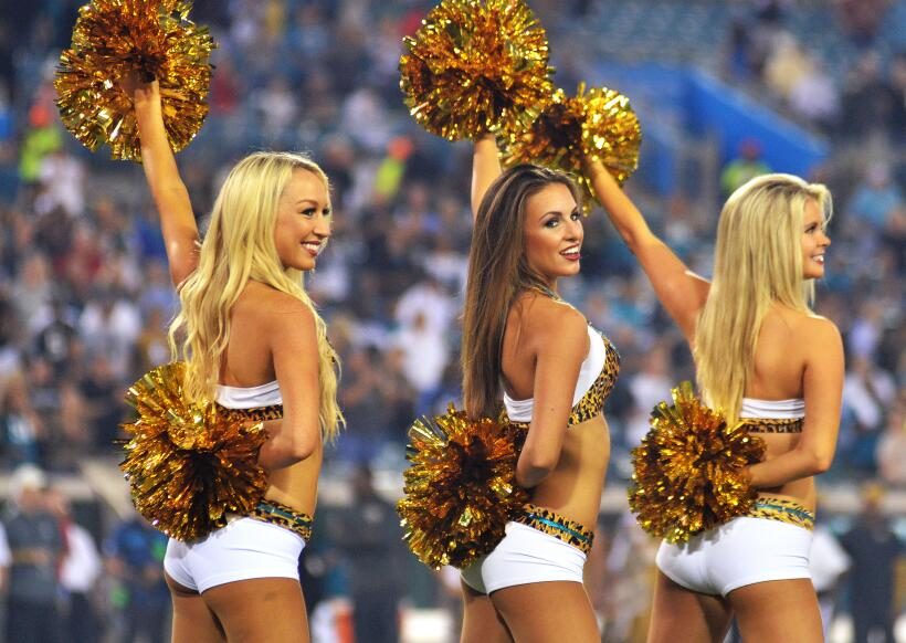 Frío y calor en la Semana 11 de la NFL, pero las cheerleaders &ie...