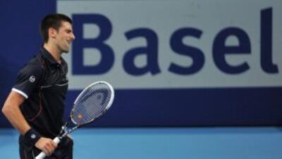 Djokovic se lamenta en un momento de su partido ante Nishikori