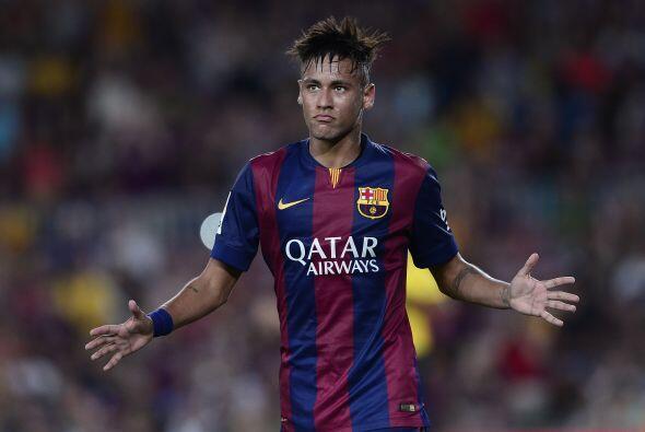 Neymar vivirá una situación similar en la capital catalana al arrancar s...