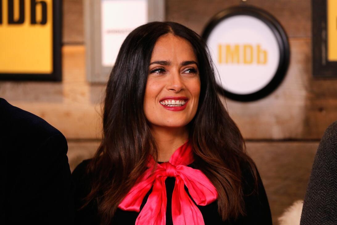 Salma Hayek y el 'nocaut' por romance con una leyenda deportiva GettyIma...