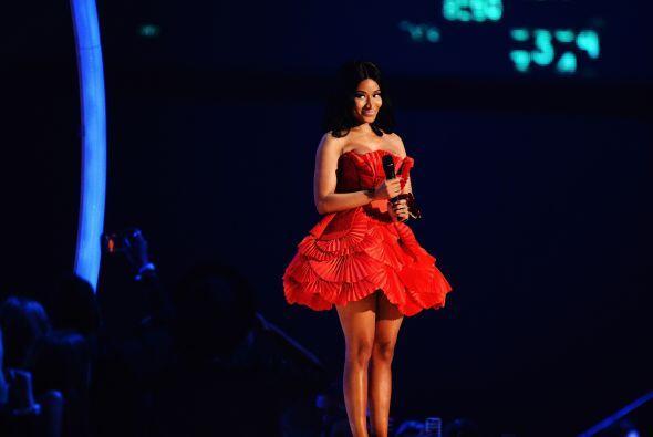 Hay otras chicas más extravagantes, como Nicki Minaj, que también adora...