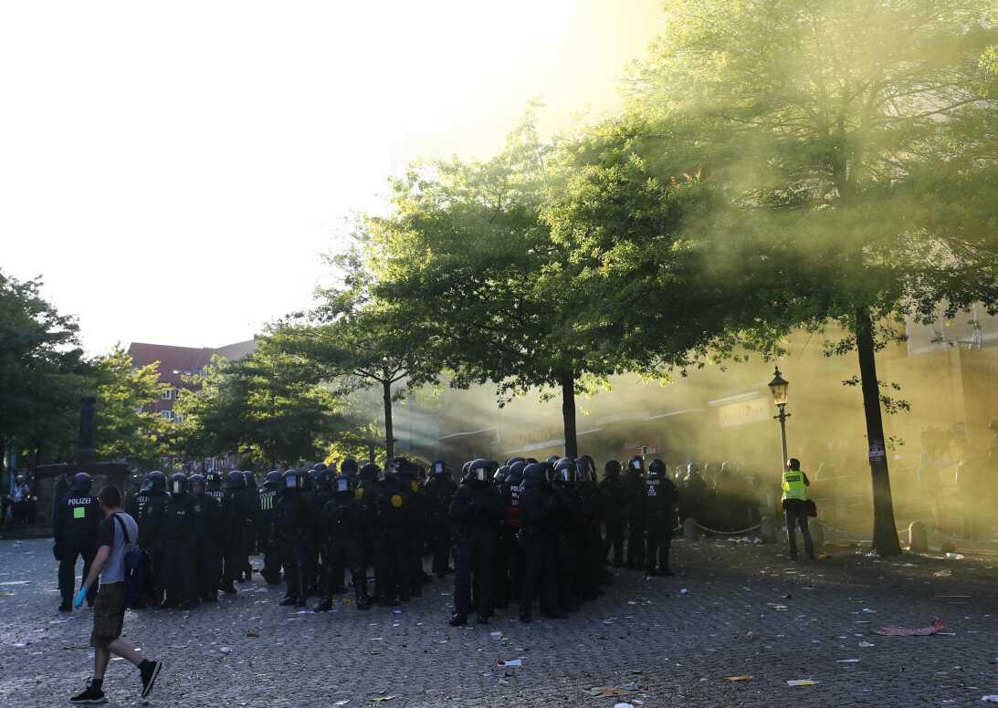 Protestas Alemnaia