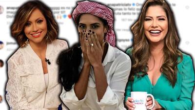 """""""OMG"""": Ana Patricia, Satcha y más reaccionan al ver el anillo de compromiso de Francisca Lachapel"""