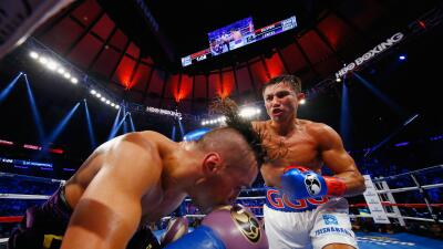 Golovkin fue muy superior a Lemieux.
