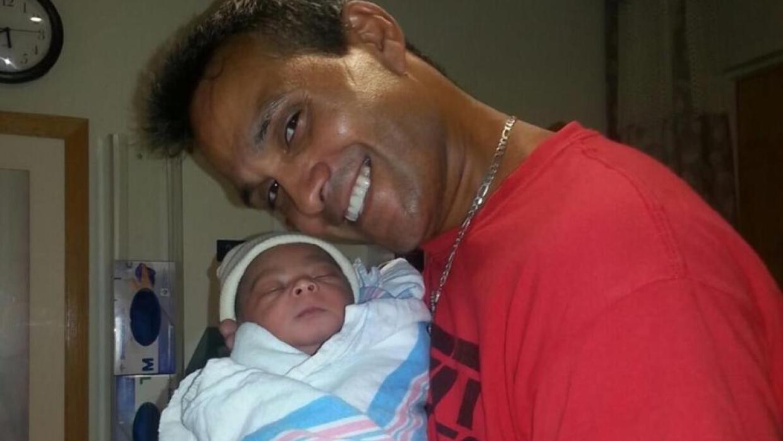 Con historial criminal padre que mató a su bebé