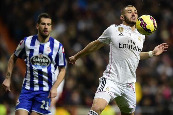 El que sí le metió el pecho a las balas fue Karim Benzema quien nuevamen...