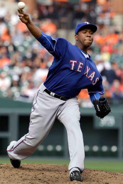 Relevista: Otro de los Rangers de Texas. Neftalí Féliz, no permitió carr...