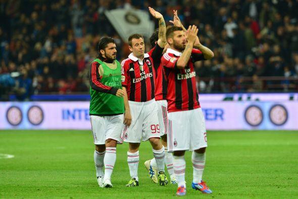 Milan sabía que oficialmente había dejado sus opciones al título.