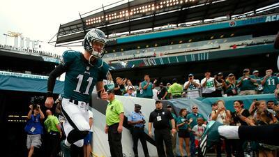 El jersey más vendido en la NFL es el de Carson Wentz de los Eagles