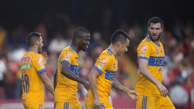 En fotos: Tigres le ganó a Veracruz y no le pierde la pista al líder Santos Laguna