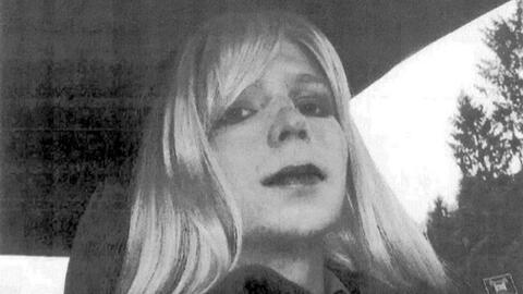 La soldado Chelsea Manning, conocida anteriormente como Bradley Manning,...
