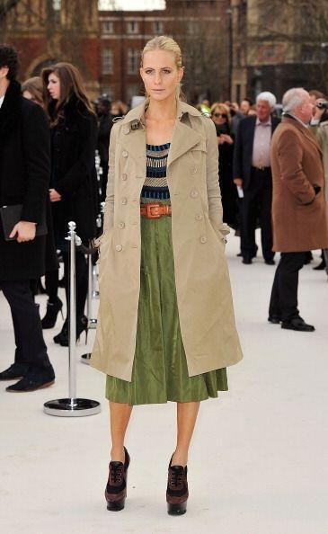 Si tu estilo es más bohemio, ¡no te preocupes! el 'trench coat' también...