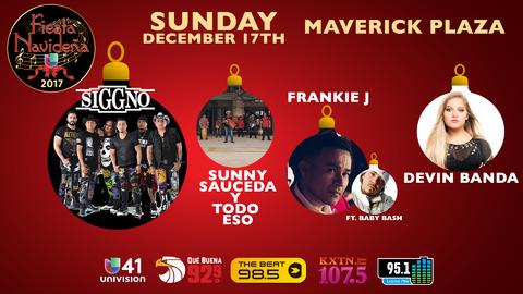Fiesta Navidena - Sunday, December 17th