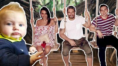 Las vacaciones por México de Julián Gil y sus hijos (pero le faltó Matías)