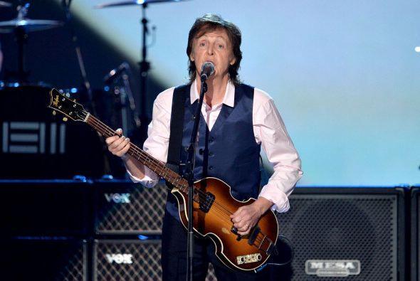 La misma cantidad cobraron por participar en el evento junto a McCartney...