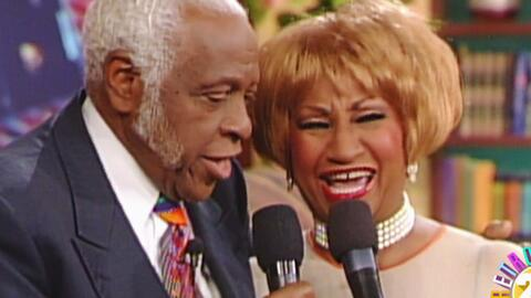 Recordamos el día que nos visitó Celia Cruz con su esposo Pedro Knight