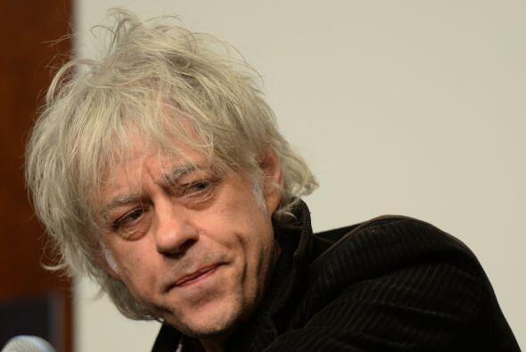 Según los últimos reportes, Geldof quedó destrozado tras conocer la muer...