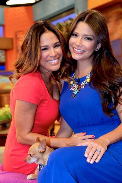 Karla no puede ocultar su enorme felicidad al ver a su cuñis embarazada....