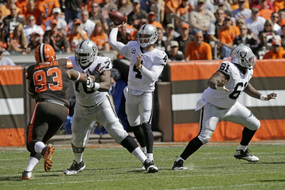 Draft 2014 – Cleveland pudo tomar a Khalil Mack y Derek CarrLos Browns n...