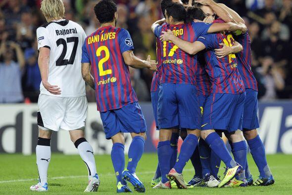 Barcelona ganó, gustó pero no pudo golear.