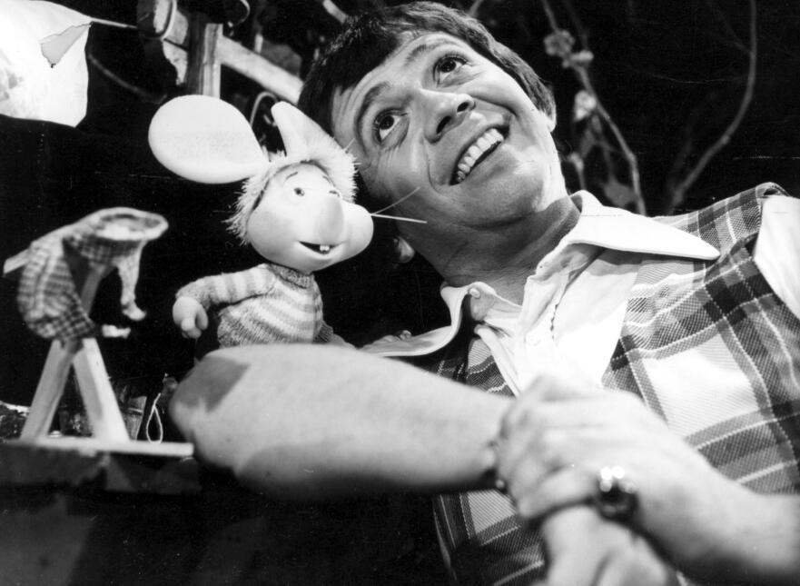 Chabelo y Topo Gigio en 1972.