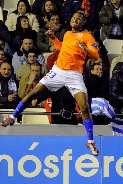 Un año después, Rondón firmó en España con el club Las Palmas (segunda d...