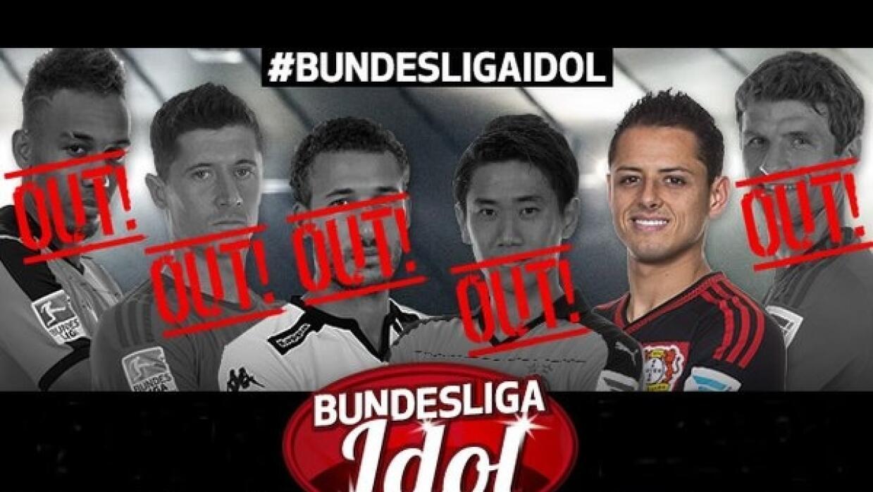 'Chicharito', ídolo oficial de Bundesliga