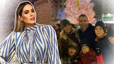 En fotos, la feliz Navidad de Galilea Montijo y su familia desde New York