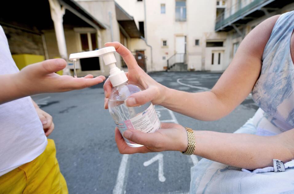salud bacteria manos