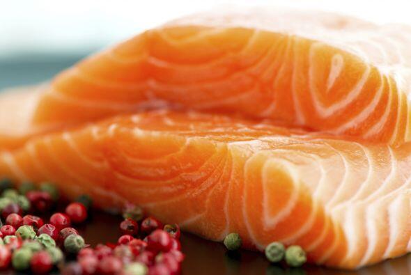 Salmón salvaje. Es una de las mejores fuentes de ácidos gr...