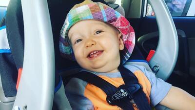 Retratos de Liam, el pequeño niño donante