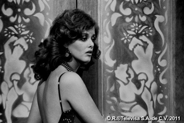 Lucía Méndez lucía una belleza inigualable.