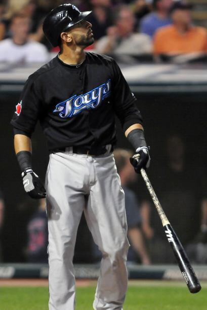 3. José Bautista (Azulejos de Toronto) .334 (100 hits en 299 turnos al b...