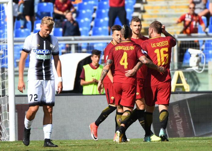 Fiesta y triunfo para la Roma tras vencer 3-1 al Udinese edin-dzeko-2.jpg