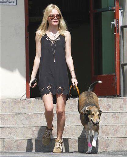 Kate Bosworth y Daka   Kate  Bosworth demostró su amor por los ca...