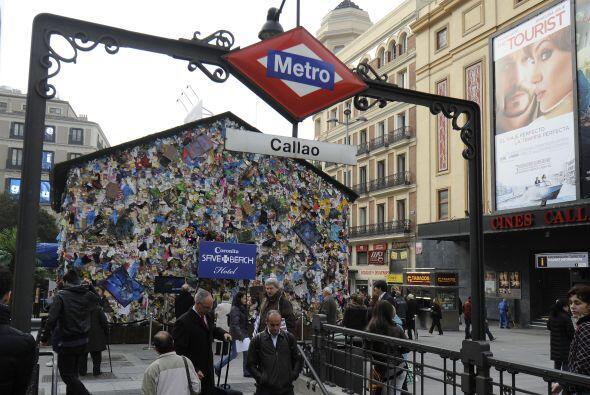 Los madrileños y turistas podrán disfrutar la instalación del proyecto h...