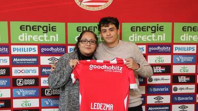 El mexico-americano Richard Ledezma es nuevo jugador del PSV sub-19