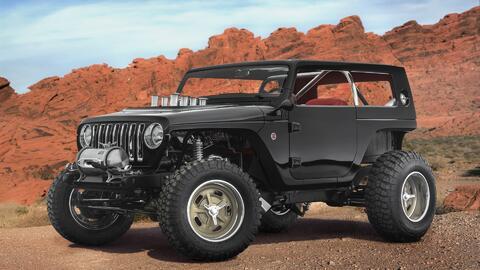 Jeep lanza un escuadrón de conceptos para el Safari de Pascua Jeep 2017