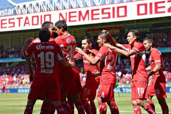 Los Diablos del Toluca sorprendieron en los cuartos de final con cambios...
