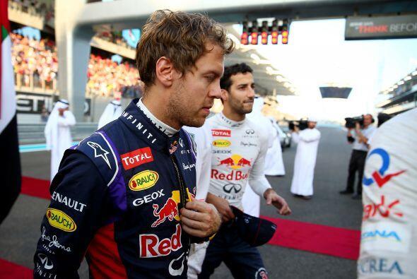 Sebastián Vettel tuvo un año para olvidar, quedó en quinto lugar del Cam...