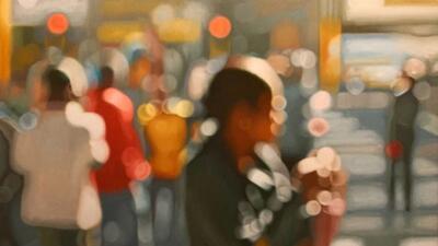 El 40% de la población de EEUU es miope. Un pintor nos muestra cómo ven el mundo
