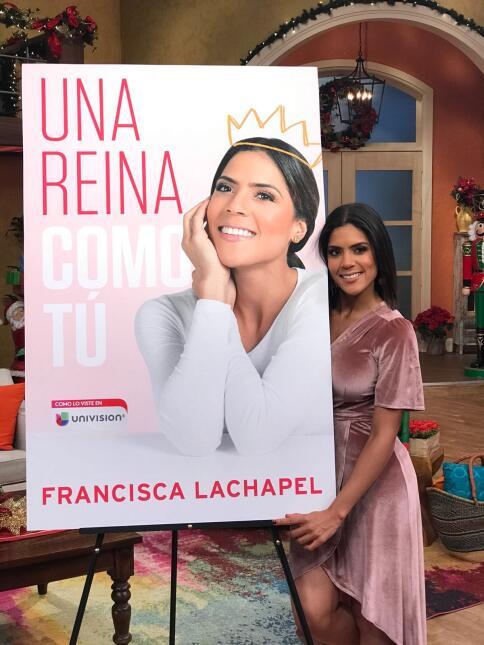 Francisca Lachapel presenta su libro