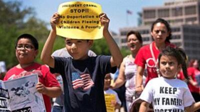 Niños ciudadanos estadounidenses o residentes legales permanentes le abr...