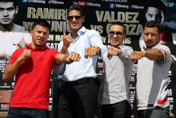 Ramírez y Valdez quieren poner le nombre de México en alto en San Antoni...