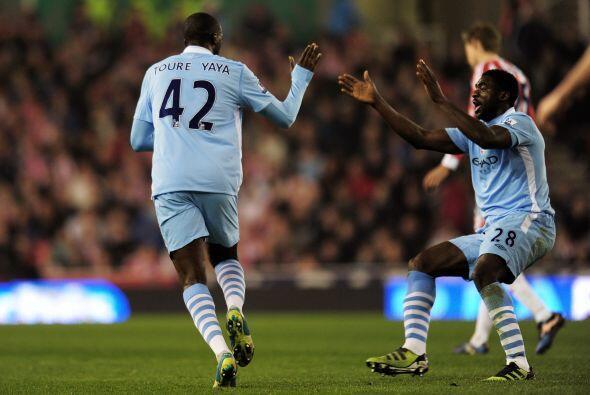 Yaya Touré encontró el empate y calmó las aguas.