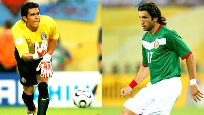 Oswaldo Sánchez y 'Kikín' Fonseca recordaron el duelo ante Argentina en el Mundial de Alemania 2006