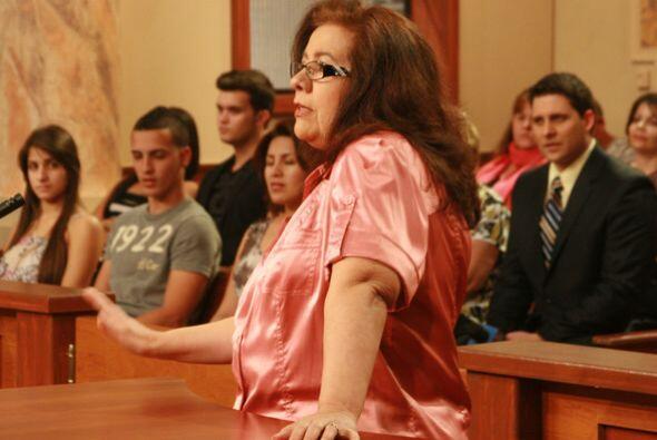La demandada intentaba seducir a su marido vestida como las protagonista...