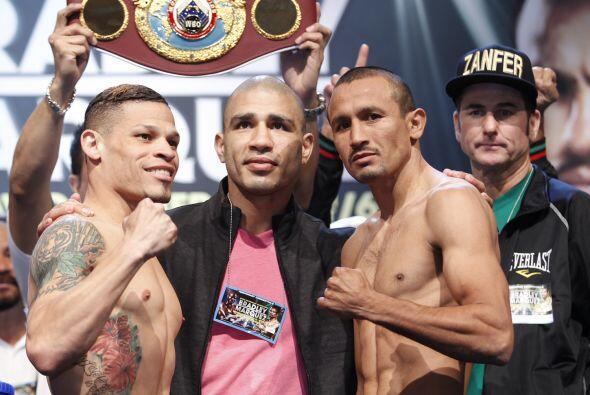 Miguel Cotto fue a respaldar a su compatriota, se espera que Cruz y Sali...