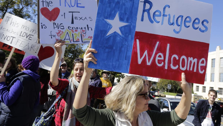 Justicia rechaza una solicitud de Texas para bloquear a refugiados sirio...